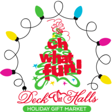 Oh What Fun! Deck the Halls 2019 Logo
